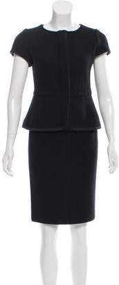 Narciso Rodriguez Wool Knee-Length Skirt Suit