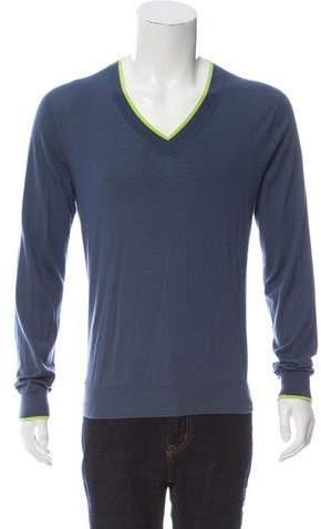 Hermès Cashmere V-Neck Sweater