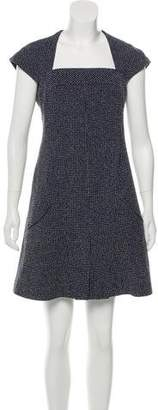 Chanel Wool-Blend Tweed Dress