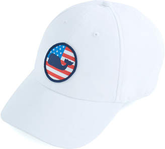 Vineyard Vines Performance Patriot Whale Dot Hat