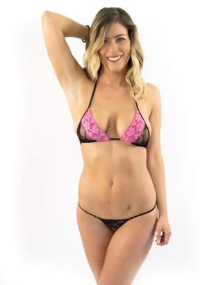 Lena Style Women's Lace Hot Sexy Micro Thong Bikini Erotic Swimwear XL