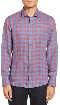 Zachary Prell Liam Plaid Woven Sport Shirt