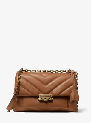 MICHAEL Michael Kors Cece Medium Quilted Nappa Leather Convertible Shoulder Bag