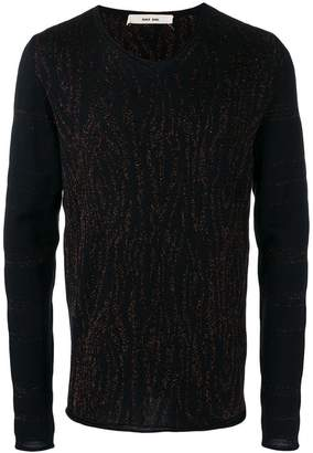 Damir Doma long-sleeve fitted sweater