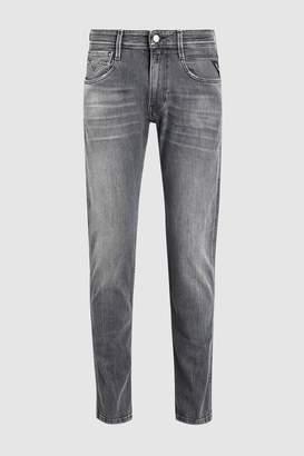 Next Mens Replay Anbass Super Stretch Slim Fit Jean