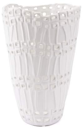ZUO Modern Cal Short White Vase