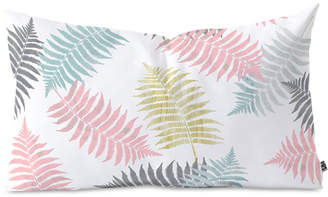 Deny Designs Emanuela Carratoni Ferns Dance Oblong Throw Pillow