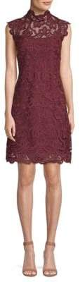 Laundry by Shelli Segal Sleeveless Lace Cocktail Dress