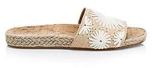 Jack Rogers Women's Bettina Raffia Slides Sandals