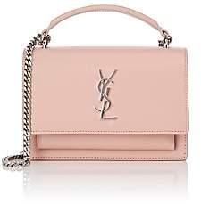 Saint Laurent Women's Monogram Sunset Chain Wallet - Rose