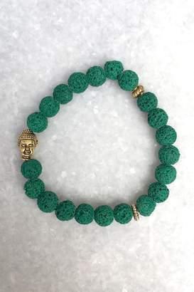 Wild Lilies Jewelry Green Buddha Bracelet