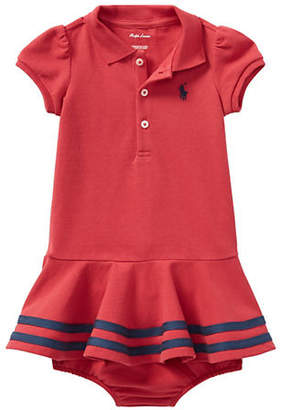 Ralph Lauren Striped Shirtdress and Bloomers Set