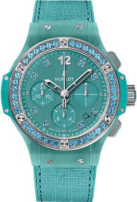 Hublot 341.XL.2770.NR.1237 Big bang turquoise linen watch