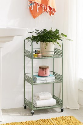 Urban Outfitters Langley Metal Rolling Storage Cart $49 thestylecure.com