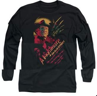 Freddy Trevco Nightmare On Elm Street Claws Adult Long Sleeve T-Shirt