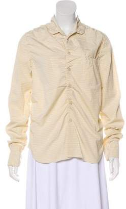 Marni Long Sleeve Button-Up Top w/ Tags