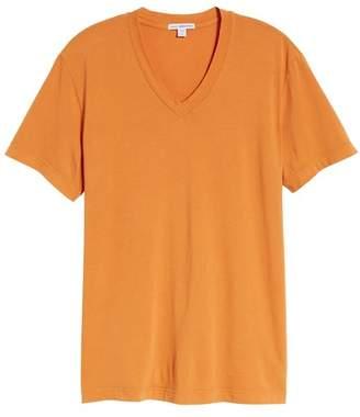James Perse Short Sleeve V-Neck Tee