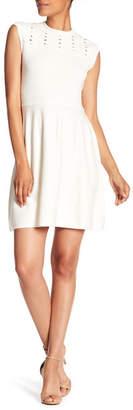 Cynthia Steffe CeCe by Knit Fit & Flare Dress