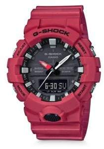 G-Shock Shock& Water Resistant Slim Strap Watch