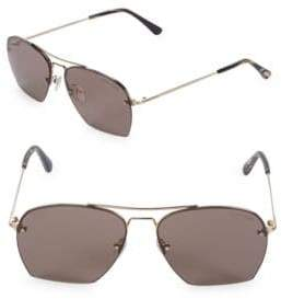 Tom Ford Geometric Aviator Sunglasses