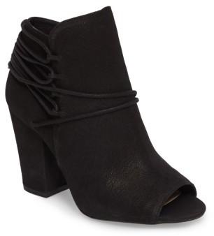 Women's Jessica Simpson Remni Peep Toe Bootie $128.95 thestylecure.com