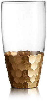 One Kings Lane Set of 4 Daphne Gold Highball Tumblers