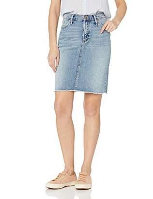 Silver Jeans Co. Women's Frisco Knee Length Pencil Skirt