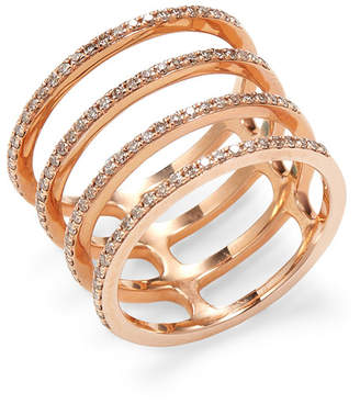 Ef Collection Multi Spiral Diamond Ring