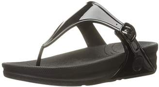 FitFlop Women's Superjelly Rubber Flip Flops Jelly Sandal $29.26 thestylecure.com