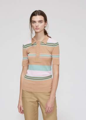 Sies Marjan Rory Short Sleeve Collared Sweater