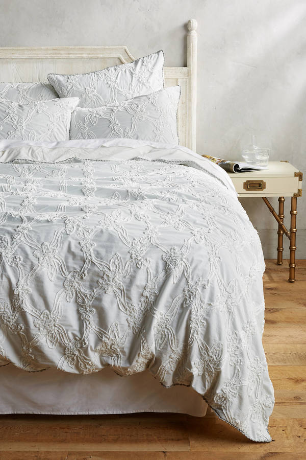 Anthropologie Anthropologie Floral Trellis Duvet