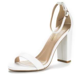 0e76ca5a14e8 at Amazon Canada · DREAM PAIRS HI-Chunk Women s Evening Dress High Chunky  Heel Open Toe Ankle Strap Stiletto