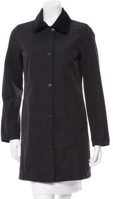 Barbour Cotton Touch Hampshire Jacket $130 thestylecure.com