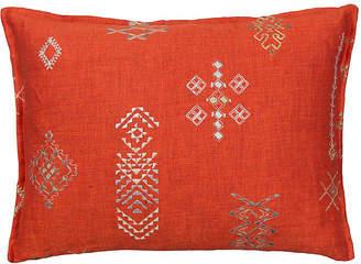 Coral & Tusk Tumbleweed 12x16 Pillow - Vermilion Linen