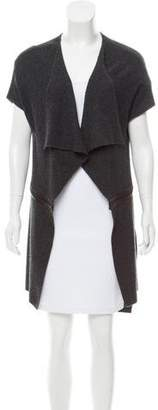 Robert Rodriguez Leather-Accented Vest