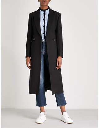 Sandro Geranium wool-blend coat
