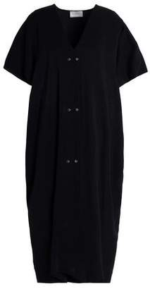 Lanvin Studded Stretch-Jersey Midi Dress