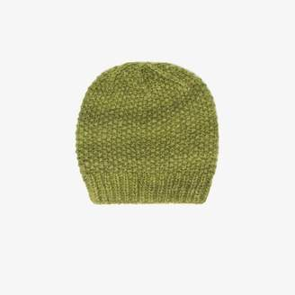 2792066e89a356 The Elder Statesman green cashmere beanie
