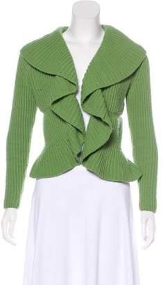 Lafayette 148 Merino Wool & Cashmere Blend Cardigan