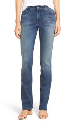 Petite Women's Nydj 'Billie' Stretch Mini Bootcut Jeans $134 thestylecure.com