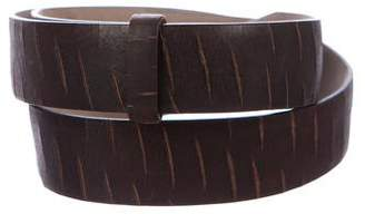 Brunello Cucinelli Leather Waist Belt