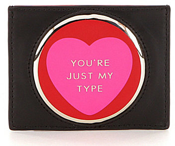 Kate Spadekate spade new york Be Mine Collection Heart Card Holder