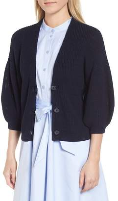 Nordstrom Signature V-Neck Cotton Cardigan