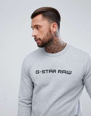 G Star G-Star Loaq Raw Logo Sweatshirt