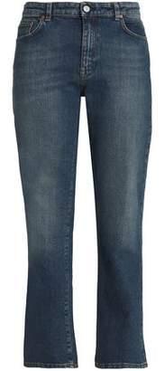 Acne Studios Faded Mid-Rise Slim-Leg Jeans
