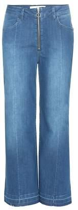 By Malene Birger Lesatian wide-leg cropped jeans