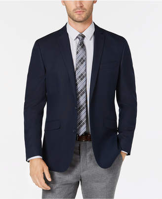 Kenneth Cole Reaction Men's Slim-Fit Navy Solid Sport Coat, Online Only