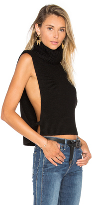 Joe's Jeans Marlow Sleeveless Sweater $225 thestylecure.com