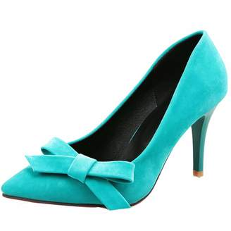 Comfity Womens Comsma High Heel Slip-on Pumps, Synthetic