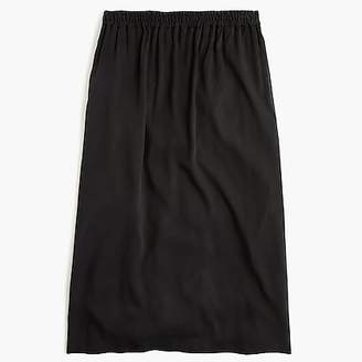 J.Crew Universal Standard for Cupro shirred midi skirt